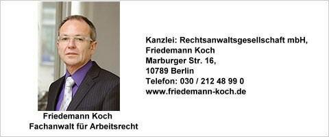 Rechtsanwalt Friedemann Koch